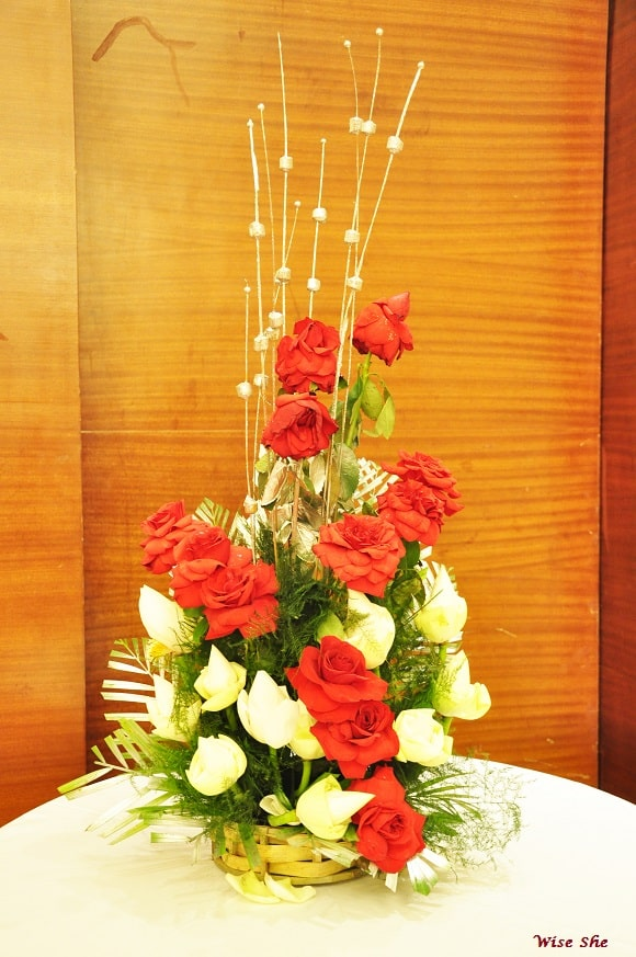 party flower arrangements