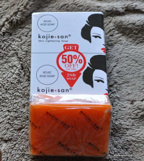 kojie skin lightening soap