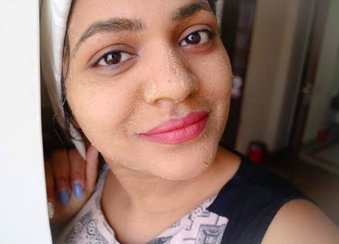 lodhradi face pack application