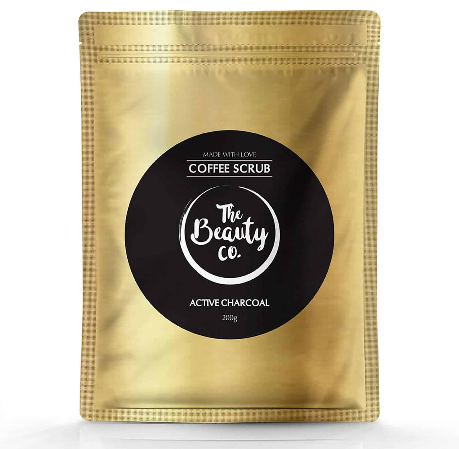The Beauty Co. Activated Charcoal Coffee Scrub For Face & Body